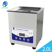 Ultrasonic Jewelry Cleaner Washing 2L Tank Baskets Watches Injector Dental 60W 40kHz Digital Heated Ultrasonic Bath Cheaner