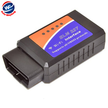 Factory Price Wireless ELM327 WiFi OBD 2 For Android 4.2 Car DVD WiFi ELM327 OBD II Scanner Free Shipping WF(China)