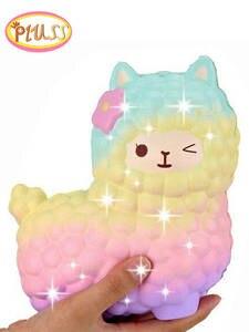 Kids Gift Jumbo Squish Sheep Slow-Rising Smooshy Mushy Galaxy Wholesale Cute Alpaca