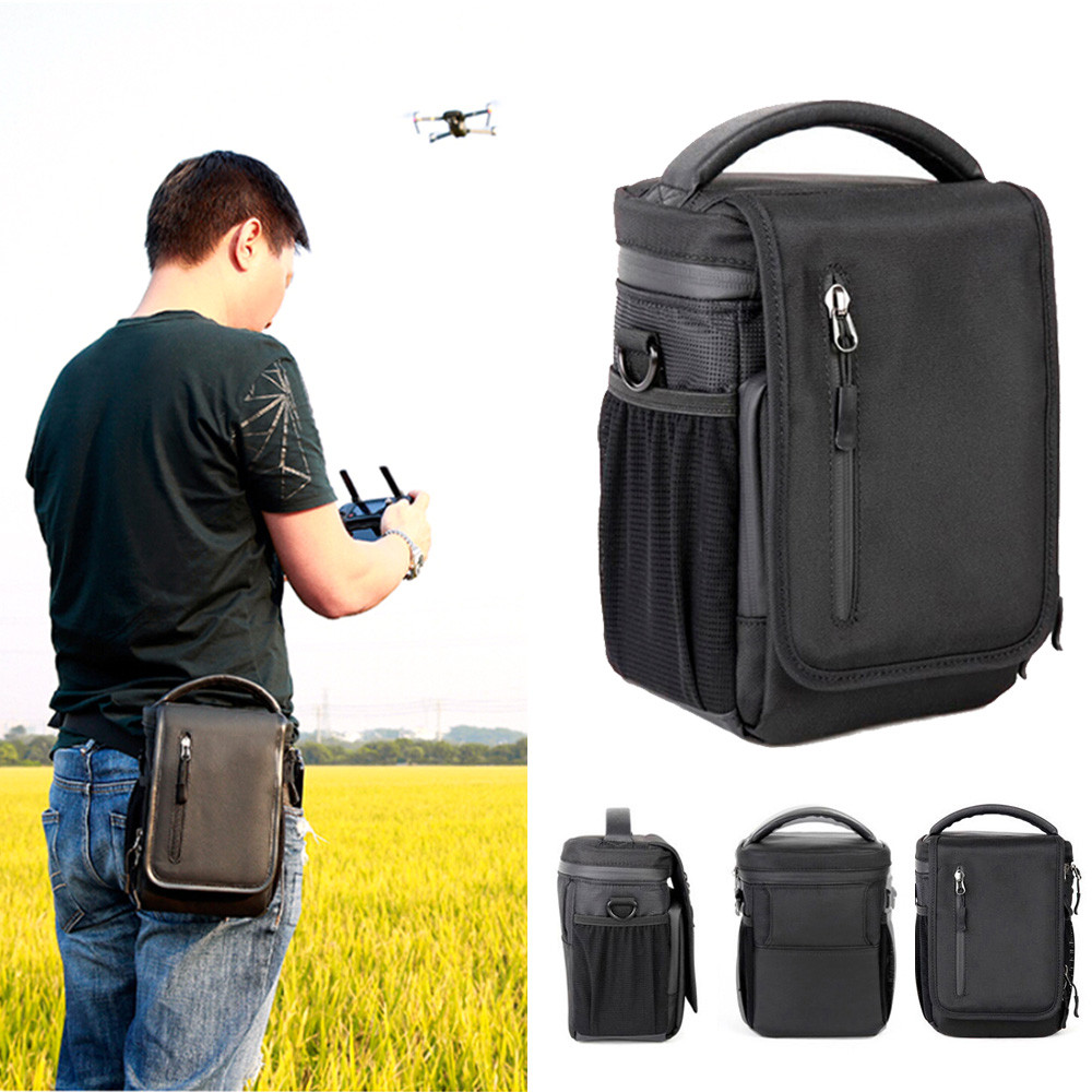 OMESHIN New 1x Black Shoulder Bag (Upright) for DJI Mavic Pro Collapsible Quadcopter Futural Digital MAY2