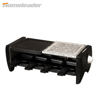Homeleader Portable Barbecue Grill Electric Smokeless Korean Style Grill For Family/Party/Outdoors Picnic Grill Machine K45-021
