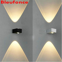 Wall Light LED outdoor Wall Lamp IP65 Waterproof 6w Garden Light Aluminum Indoor Corridor Staircase Loft Balcony Lighting  n01