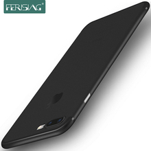FERISING Ultra Thin Matte Transparent Phone Case For iPhone 6 6s 7 8 Plus 0.3mm Phone Cover Capa (Can Choose with Cable)
