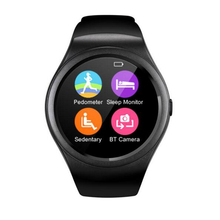 New Smart Watch V365 Full Circle Smartwatch Pedometer Fitness Tracker SIM TF Mobile Watch for IOS android Smart Watch PK KW18