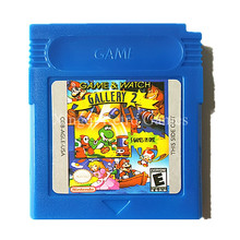 Nintendo GBC Game Game & Watch Gallery 2 Video Game Cartridge Console Card English Language(China)