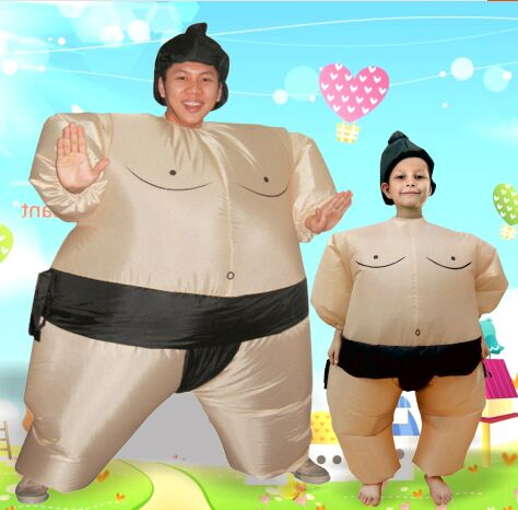 inflatable sumo costumes for children cosplay joker costume funny