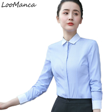 Buy 2018 New Fashion Blusas Women Clothing Long Sleeve Shirt Ol Korean Style Formal Chiffon Blouse Office Ladies Plus Size Tops for $17.10 in AliExpress store