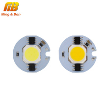 [MingBen] LED COB Chip light 9W 7W 5W 3W 220V Input Smart IC Driver Fit For DIY Cold White / Warm White LED Spotlight Floodlight