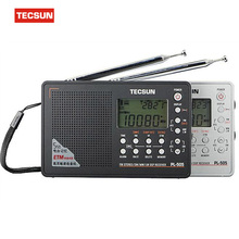 TECSUN PL-505 Full-band Digital Demodulator Stereo Radio MINI Slim Style FM/AM Radio TECSUN PL505 Built-In Speaker Free Shipping