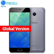 "Original MEIZU M5S MTK6753 global version 3GB RAM 16/32GB ROM Cell Phone 5.2"" octa-core Fingerprint Fast Charging Mobile Phone"