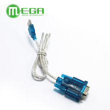 A403 10pcs HL-340 New USB to RS232 COM Port Serial PDA 9 pin DB9 Cable Adapter support Windows7-64