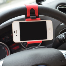 Universal Car Holder Cell Phone Holder For Iphone 6 6s plus SE Stand Support for Samsung Flexible Mobile Phone Holder For Xiaomi(China)