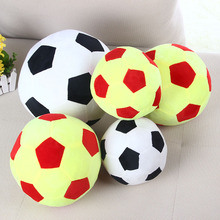 Baby Toys 20cm Football Plush Toy Kids Dolls Home Decor Children Stuffed Ball Dolls Birthday Gifts toys for children Pillow(China)