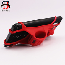 "BF Adjustable Phone Holder Handbar Silicone Band for Motocycle Bike GPS Phone Stand Mount Universal Bicycle Holder 3.5"" - 6""(China)"