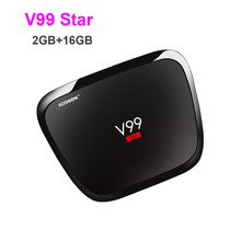 5pcs SCISHION V99 Star 2g 16g Smart TV Box Rockchip 3368 1.5GHz Octa Core Android 5.1 Bluetooth 4.0 Dual Band WiFi Set Top Box