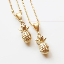 Gold Chain Fashion Necklace Gold Pineapple Necklace For Women Charm Necklace XL296