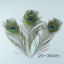 10-12inch''(25-30cm)Peacock Feather Clothing Decoration Plumage Fashion Crafts Beautiful Decorative Hat Headdress Jewelry DIY