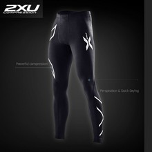 2017 New Brand Clothing 2xu Mens Compression Tights Pants Male Quick-drying Sweatpants