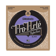 D'addario Pro Arte Nylon Classical Guitar Strings set, Normal/Hard Tension EJ 44 EJ45 EJ46