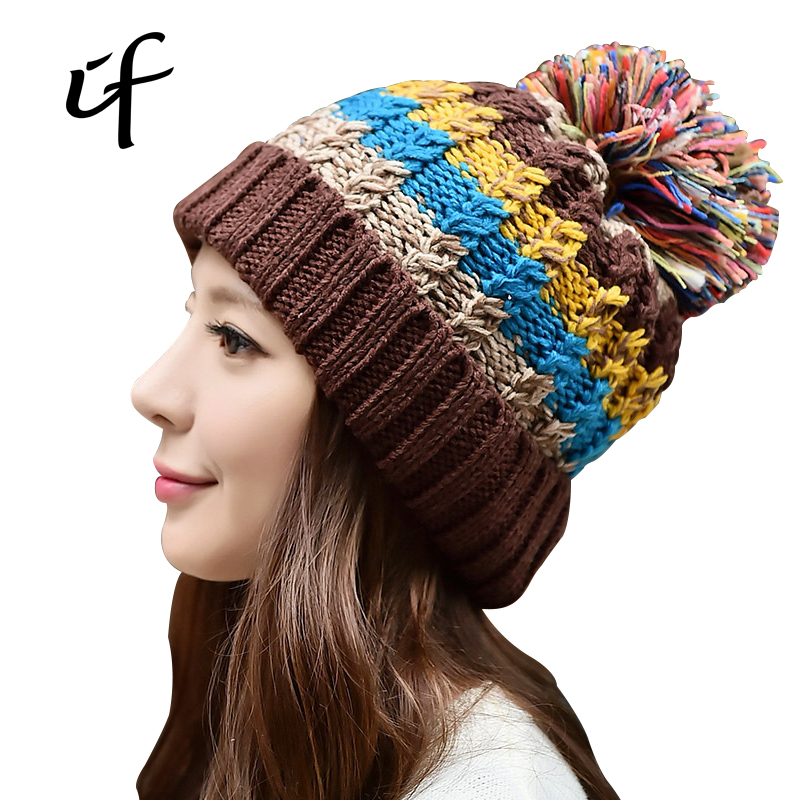 Plus Thick Velvet Thickening Warm Hat Hedging Autumn And Winter Female Hats Casual Caps Leisure Knitted Hats For Girls WomenОдежда и ак�е��уары<br><br><br>Aliexpress