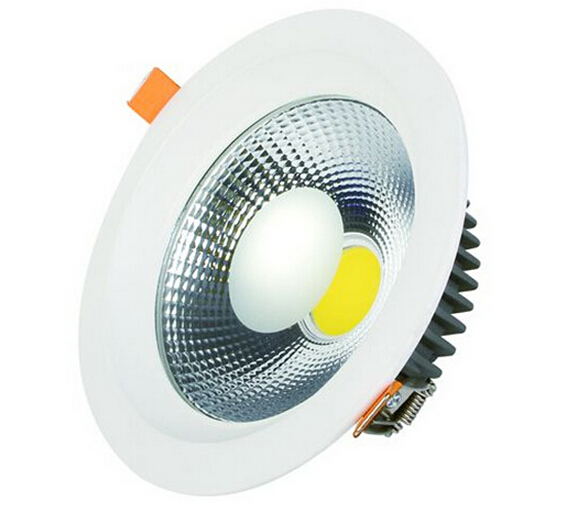 Free shipping 30W 40W COB LED Downlight No Dimmable lamps COB LED Spot Light Ceiling Downlight Recessed Cabinet Down Lamp<br>
