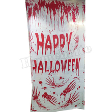 Halloween Horror Blood Mural 182*106cm Palm Halloween Decoration Toys Carnival Masquerade RPG Stage Scene Layout Props HW249