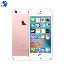 Original Unlocked Apple iPhone SE Cell Phone 4G LTE 4.0' 2GB RAM 16/64GB ROM A9 Dual-core Touch ID Mobile Phone Fingerprint IOS