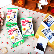 High quality Original 60 sheets Fujifilm instax mini 8 film for 7S 25 8 50s 90 polaroid instant camera mini film white edage