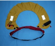 Automatic inflatable life buoy manual inflatable life vest belt type life buoy(China)