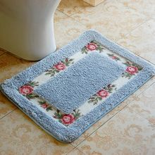 Factory Directly Multi Size Eco Friendly Ultra Soft Microfiber Printed Floor Mat