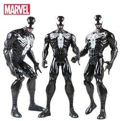 30 см Marvel The Avengers Endgame супергерой Человек-паук ядовитый Человек-паук фигурка Коллекция Модель игрушки для детей Человек-паук