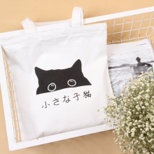 2016 Cotton Canvas Women Handbag Fashion Female Lovely Cat Ladies Clutch Bag Woman Casual Handbags Shoulder Tote Bag Bolsos