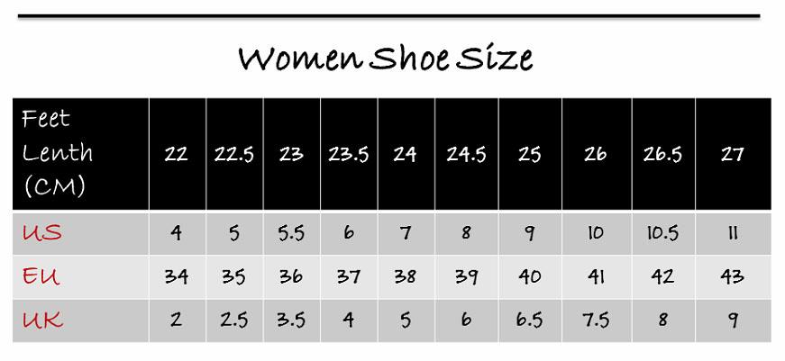 women size-