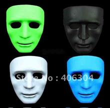 Free Shipping ,Hip hop dance masks ,white discount JabbaWockeez mask ,halloween party Masks,white ,green.red ,black(China)
