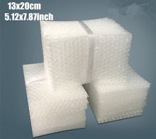 13*20cm 5.12*7.87inch 50Pcs 10mm Bubble Envelopes Wrap Bags Pouches packaging PE Mailer Packing package Free Shipping