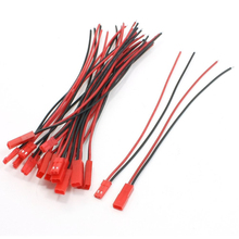 THGS 10 Pairs 22AWG 150mm Cable w 2Pin JST M F Plug for RC Battery Motor Connection