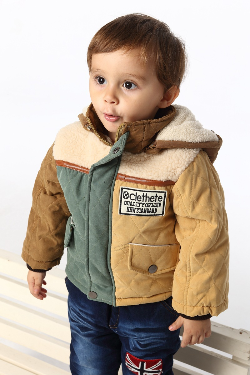 Free shipping  baby boy winter clothing suitBaby cotton thick coat, Kids, children s Suite, Kids clothing<br>