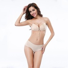 2017 New Arrival Hot Sale Seamless Push Up Lingerie Set Sexy Women Bra Invisible Strapless Big Size Bh Soutien Gorge Bras