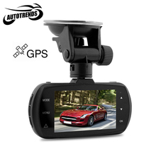 Ambarella A12 Car DVR GPS Car Camcorder 2.7 inches LCD Super HD 1440P 170 Degree View Angle Lens Night Vision Dash Cam D201
