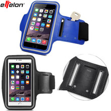 armband 5.5 Inch Gym RunningJog Case jogging cell clamp Mobile Phone Arm band Holder Case on hand Comfortable breathable for HTC(China)