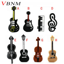 VBNM Cartoon Musical Notation model usb flash drive 8gb usb2.0 pen drive 32gb u disk pendriver flash memory usb stick(China)