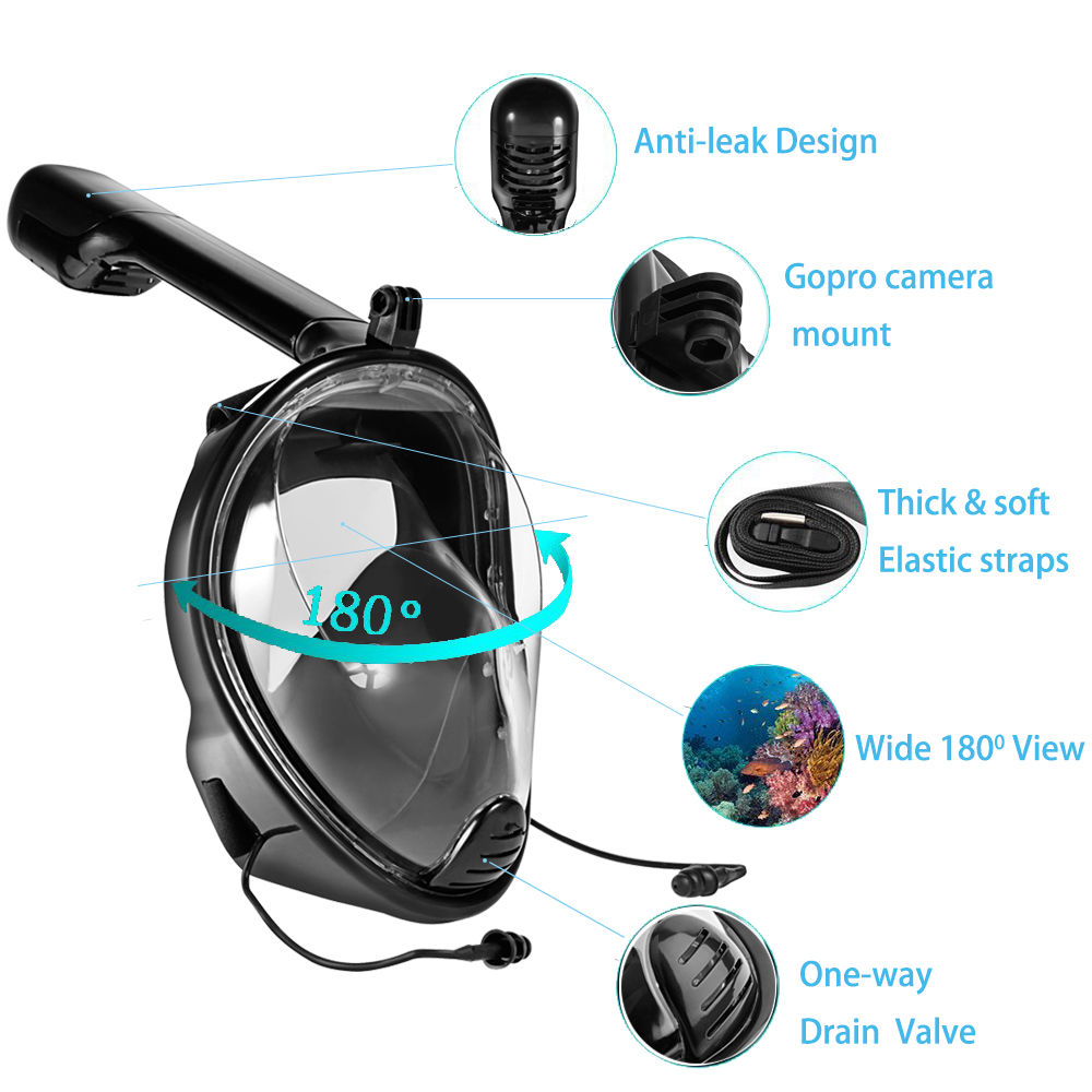 Snorkel mask anti fog
