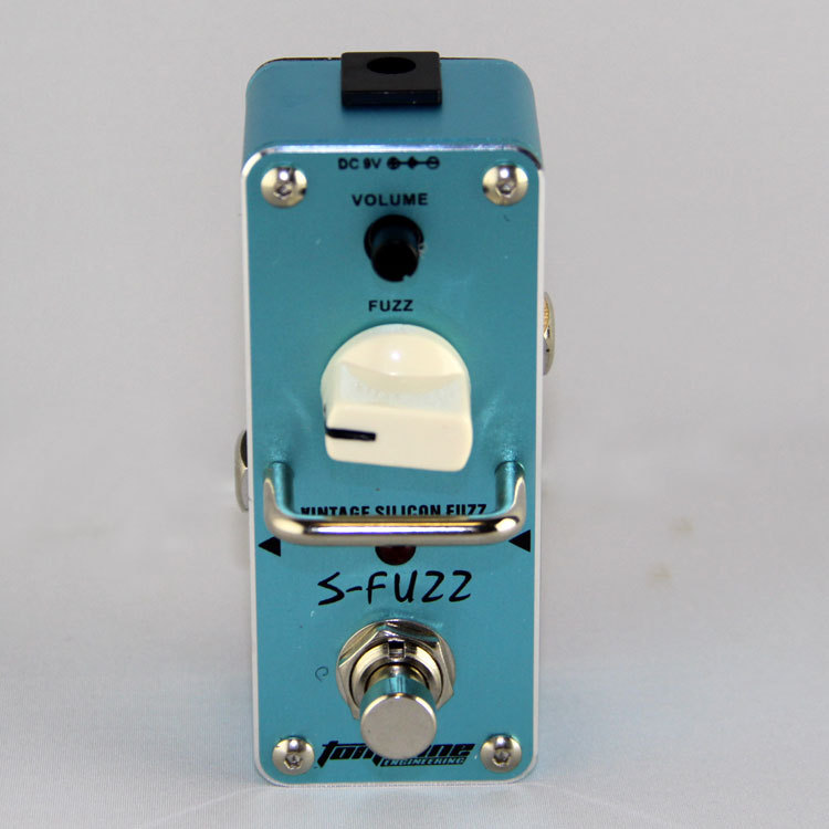AROMA ASF-3 S-FUZZ    Vintage germanium fuzz effect  Mini Analogue Effect True Bypass<br><br>Aliexpress