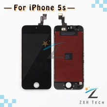 10PCS/LOT Black/White Competitive Price & Quality AAA LCD Display for iPhone 5S Screen Digitizer Assembly Free DHL Shipping