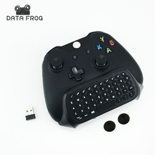 New 2.4G Mini Wireless Chatpad Message Keyboard for Microsoft Xbox One Controller with 3.5 Audio Jack for Xbox one 3.5 Keyboard(China)