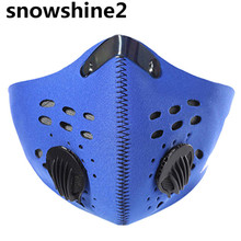 snowshine2#3522 Bicycle Riding Motorcycle Riding Mask Protect Face Wind Mask Active Carbon Mask  wholesale  wholesale
