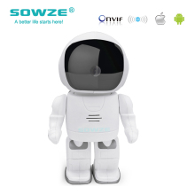 Wireless Hidden Robot Camera Baby Monitor WIFI Camera Pan-Tilt Home Security IP Camera Night Vision 960P HD cctv camera