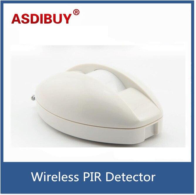 Intruder detect alarm PIR detector Wireless Passive infrared Detector Curtain Sensor PIR Detector Burglar Alarm System Intrusion<br><br>Aliexpress