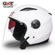 2017 NEW Free Shipping Half Motorcycle Helmet Four Seasons in double lenses GXT capacetes Moto helmet(China)