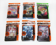 (6 packs/lot) Yugioh Fashion Design Card Sleeves Dark Magician Girl Yugi Muto Dragon Yu-Gi-Oh! VRAINS Toy Game Cards Protectors(China)